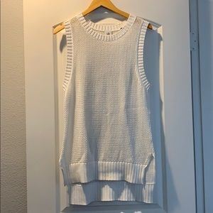 Cabi Sleeveless mwah Sweater, size small